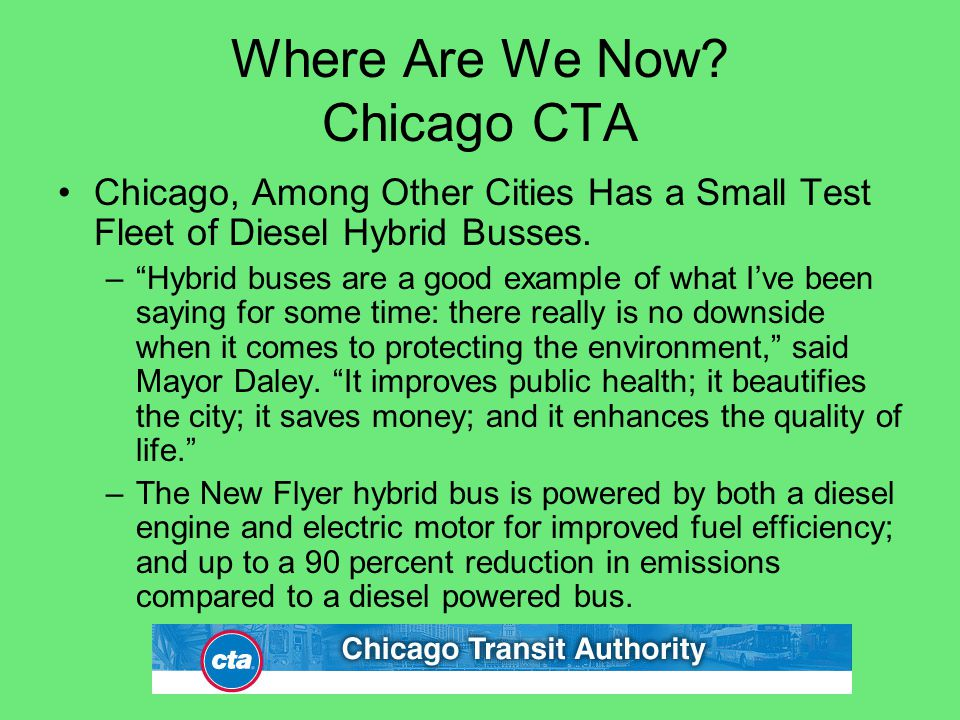 Where Are We Now Chicago CTA