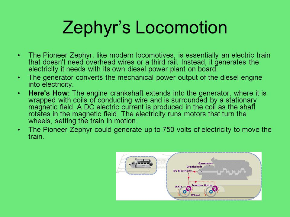 Zephyr's Locomotion