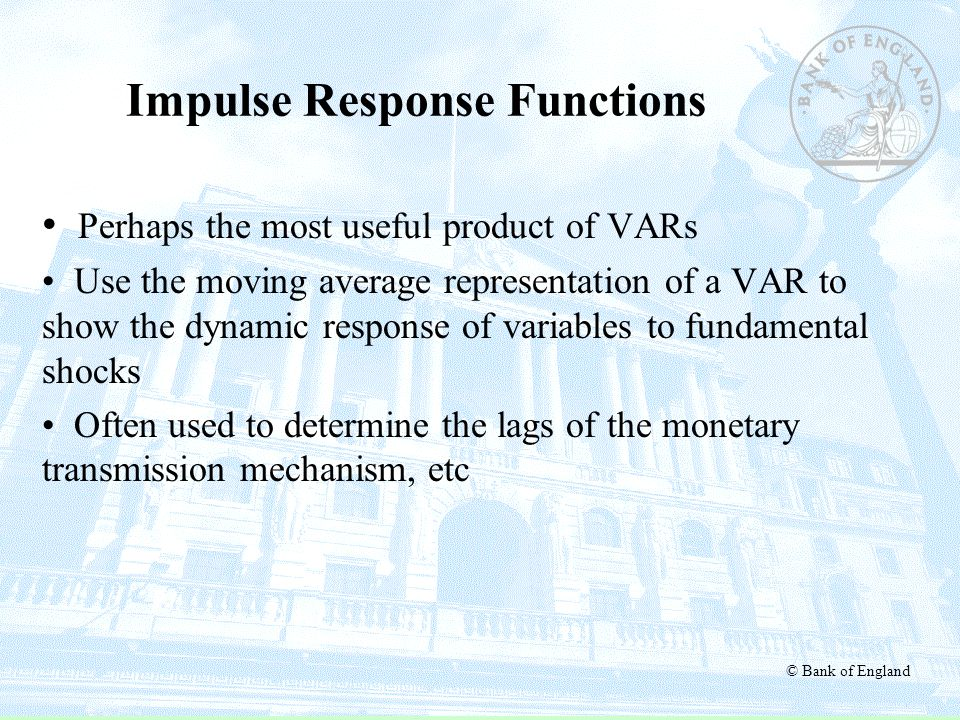 Impulse Response Functions