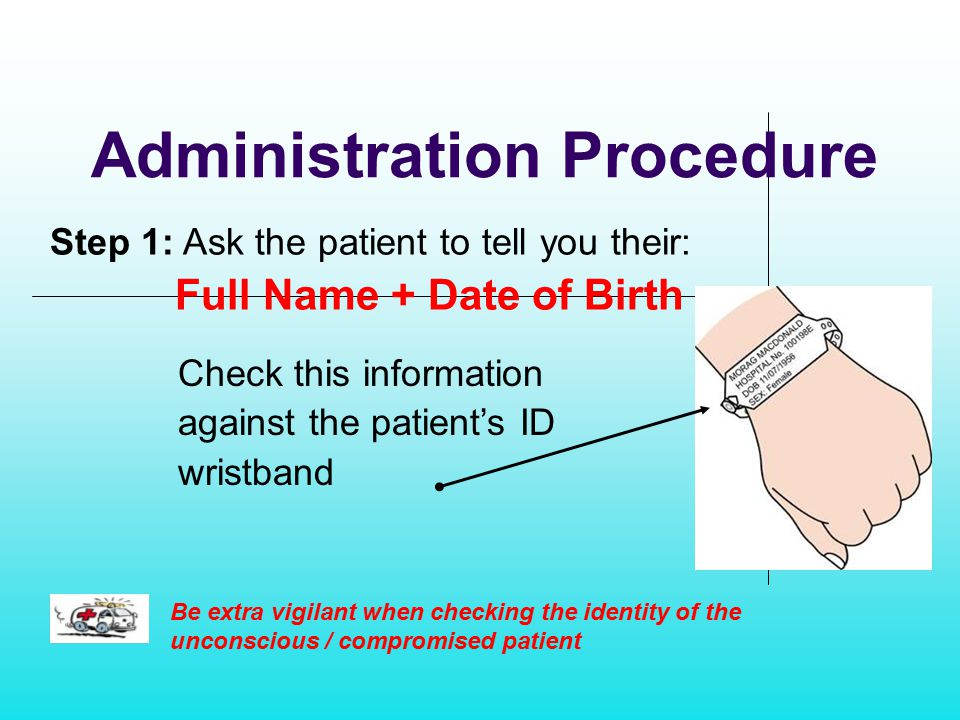 Administration Procedure