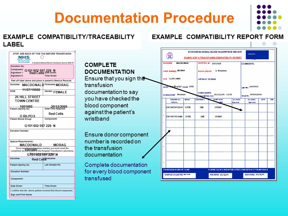 Documentation Procedure