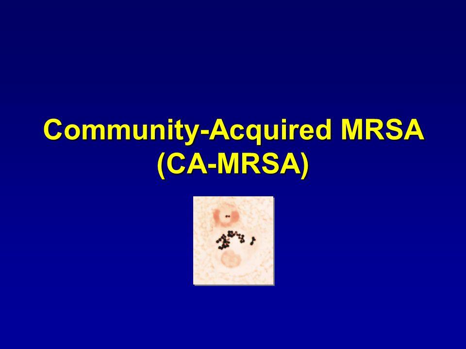 Community-Acquired MRSA (CA-MRSA)
