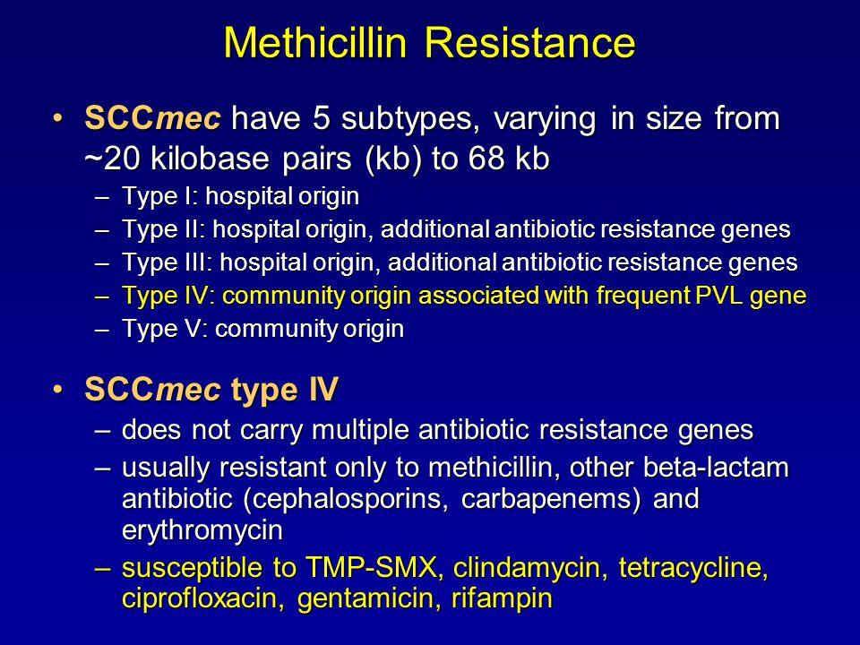 Methicillin Resistance