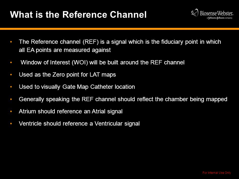 What is the Reference Channel