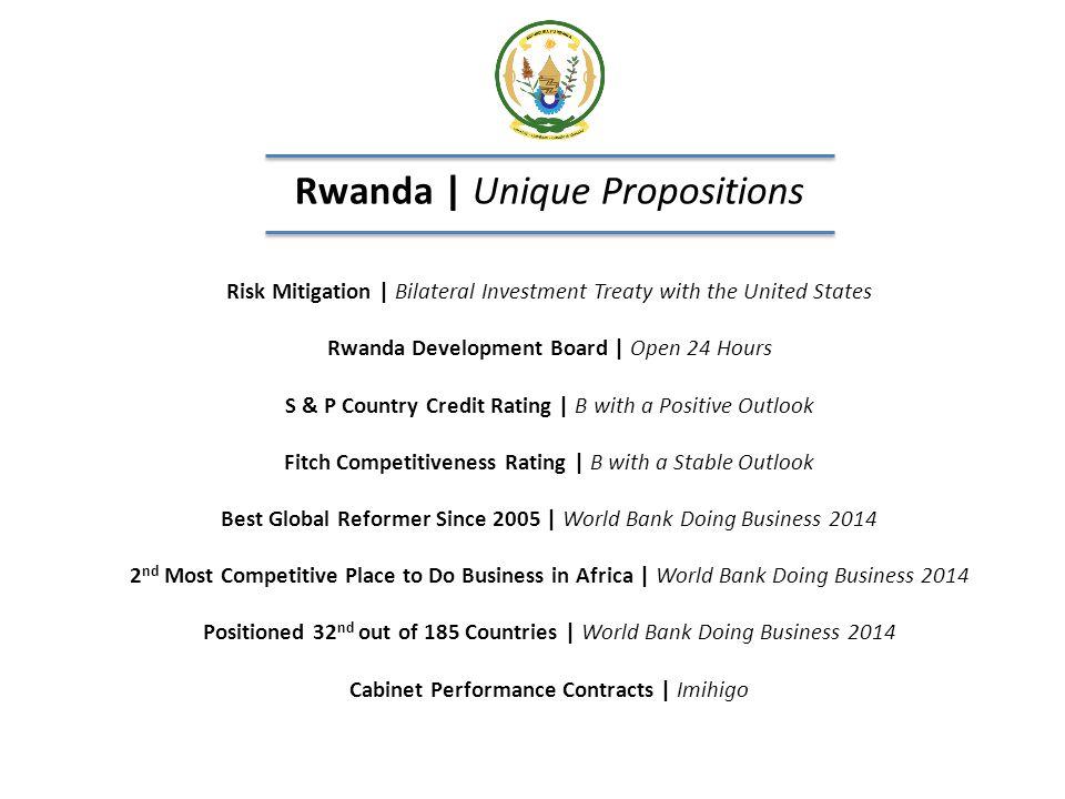 Rwanda   Unique Propositions
