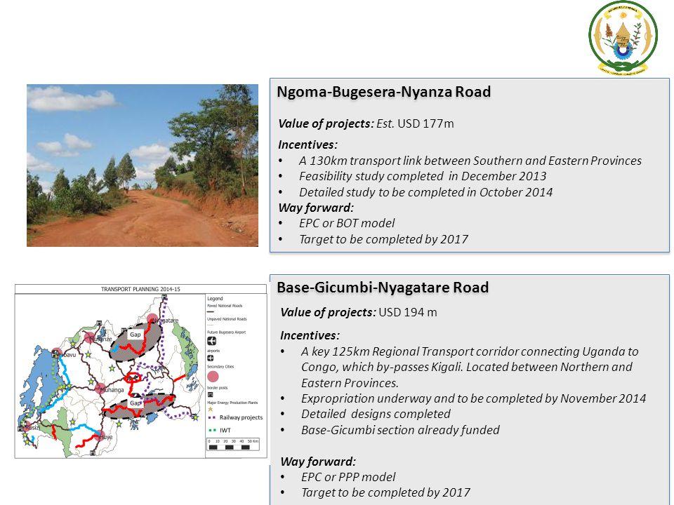 Ngoma-Bugesera-Nyanza Road