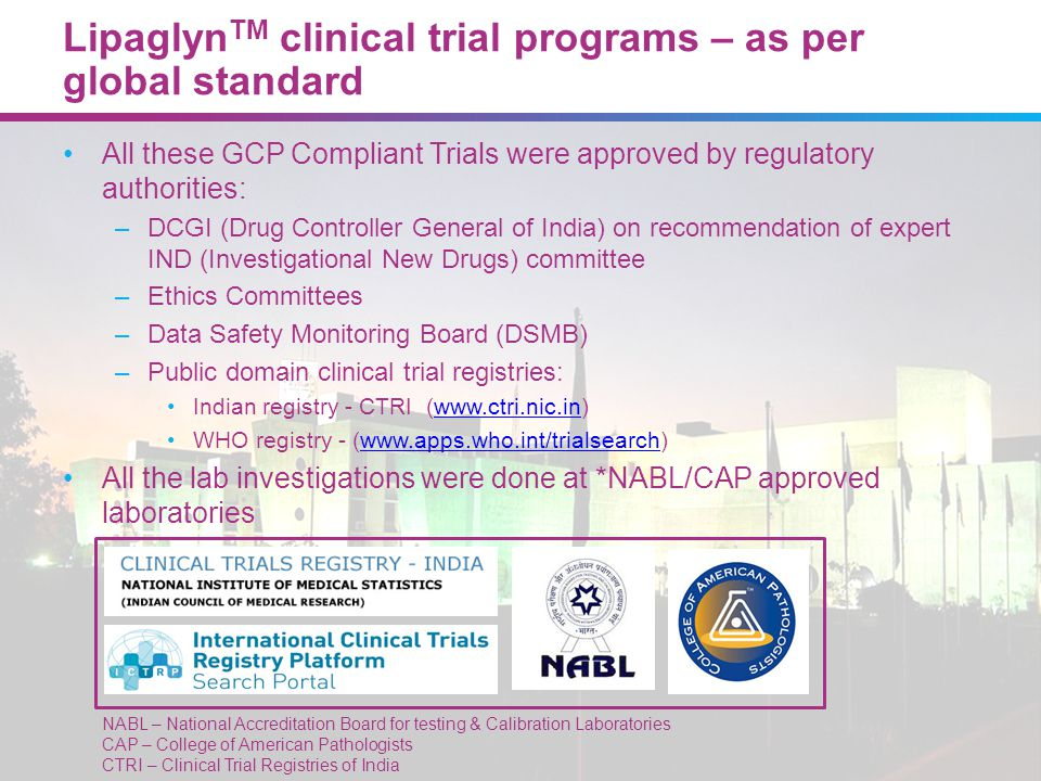 LipaglynTM: Extensively evaluated by medical experts during various clinical trials