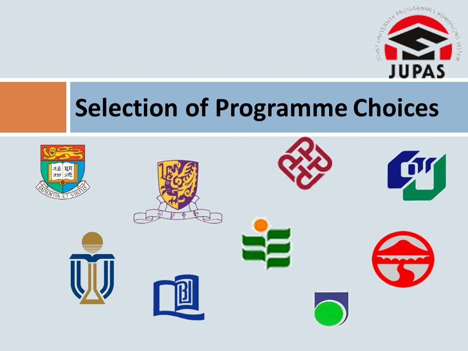 Selection of Programme Choices