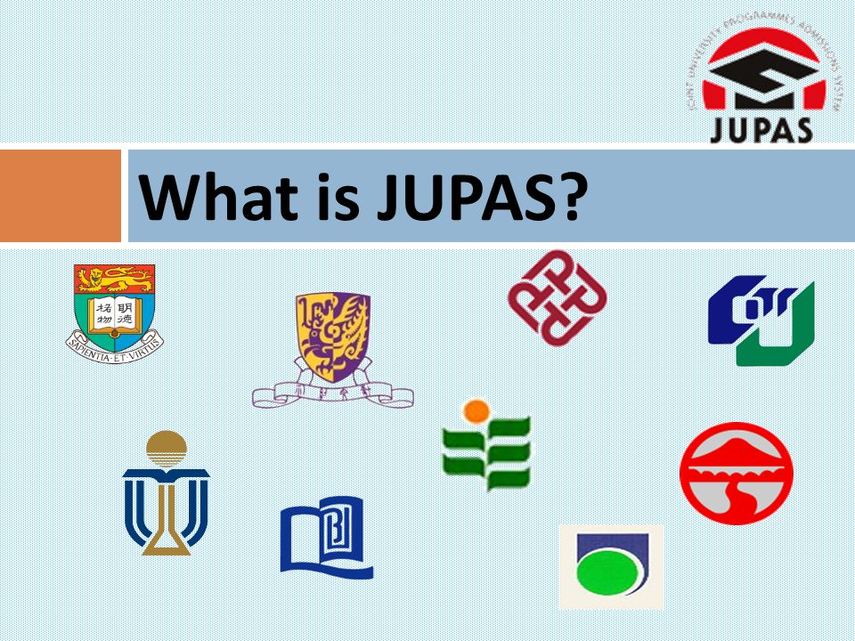 What is JUPAS