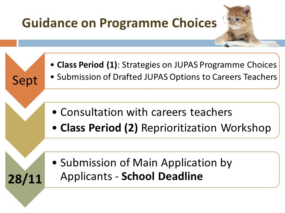 Guidance on Programme Choices