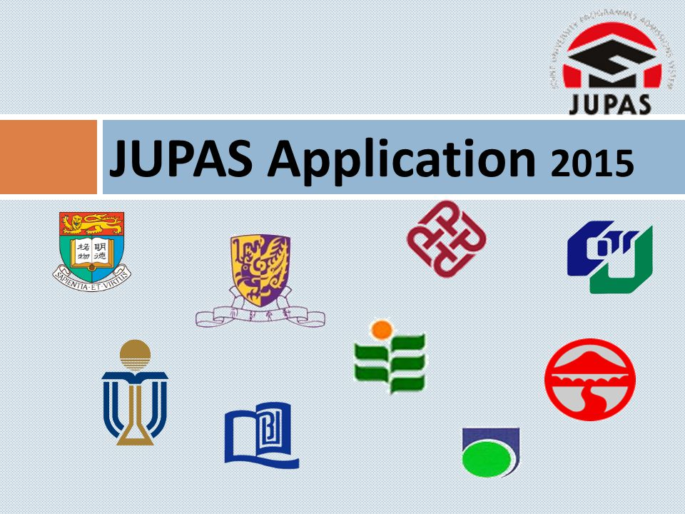 JUPAS Application 2015