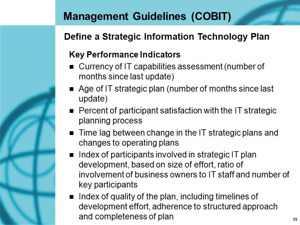 Define a Strategic Information Technology Plan