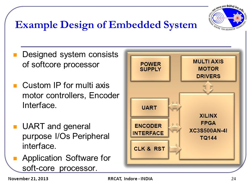 Example Design of Embedded System
