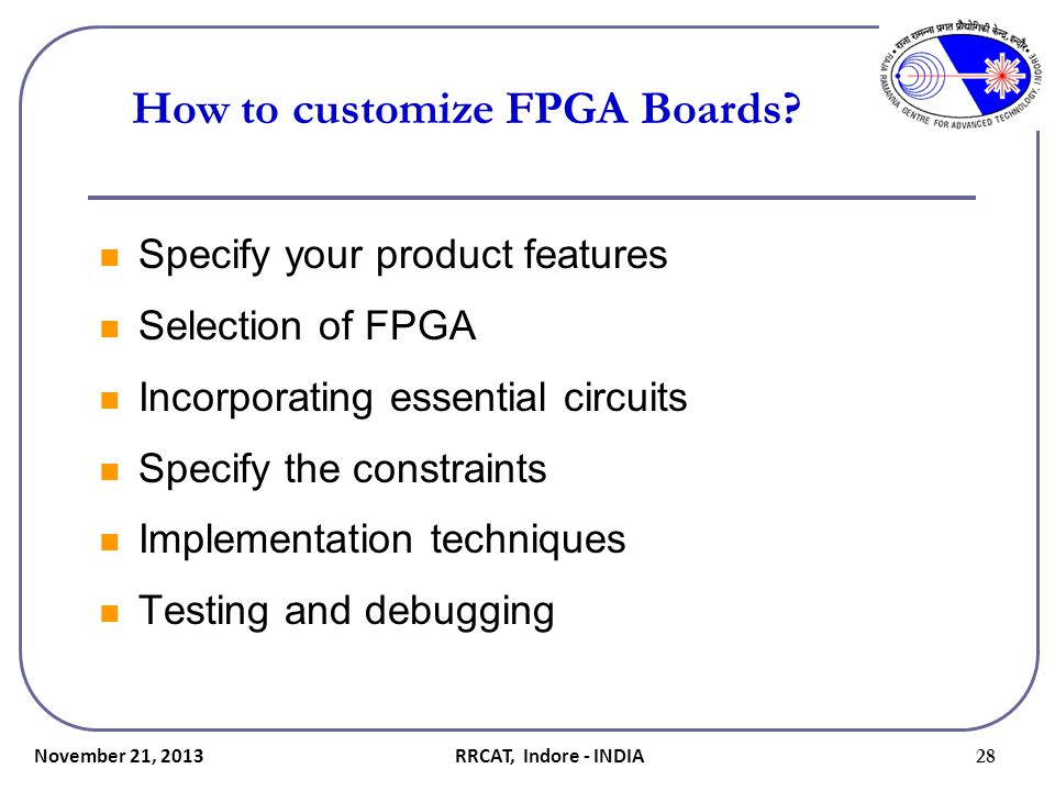 How to customize FPGA Boards