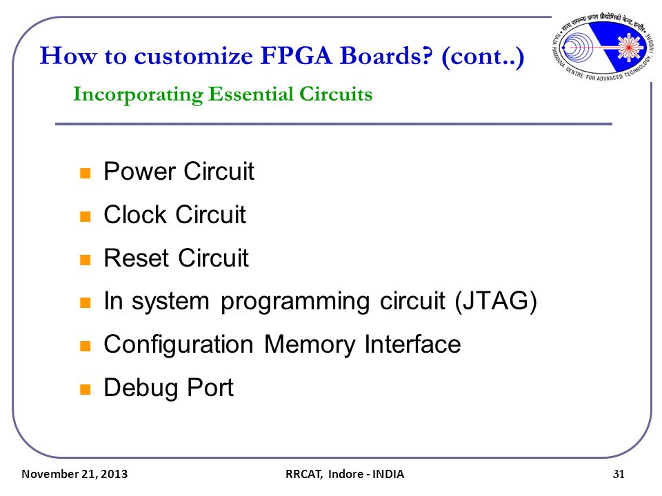 Incorporating Essential Circuits