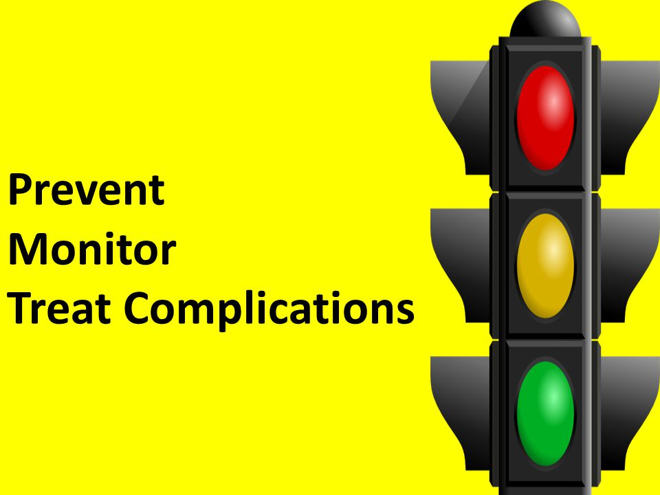 Prevent Monitor Treat Complications