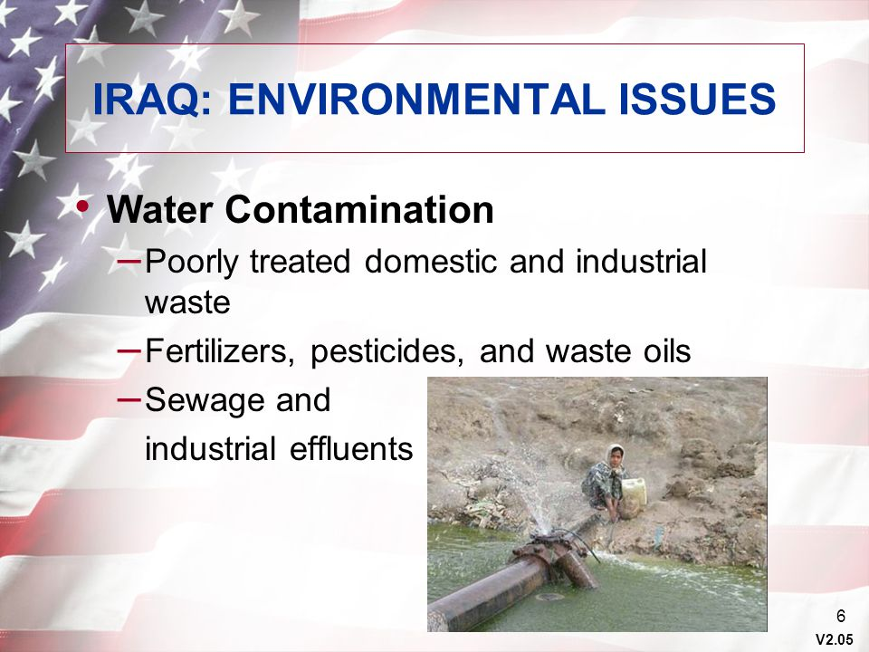 IRAQ: ENVIRONMENTAL ISSUES