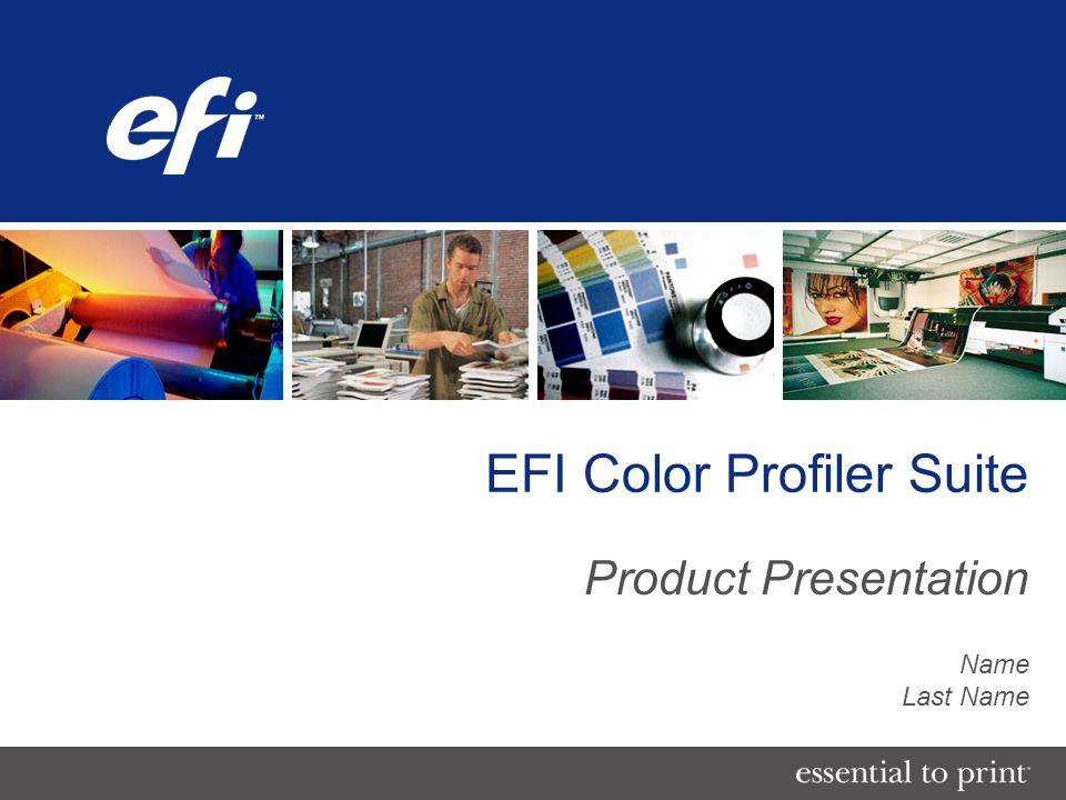 EFI Color Profiler Suite