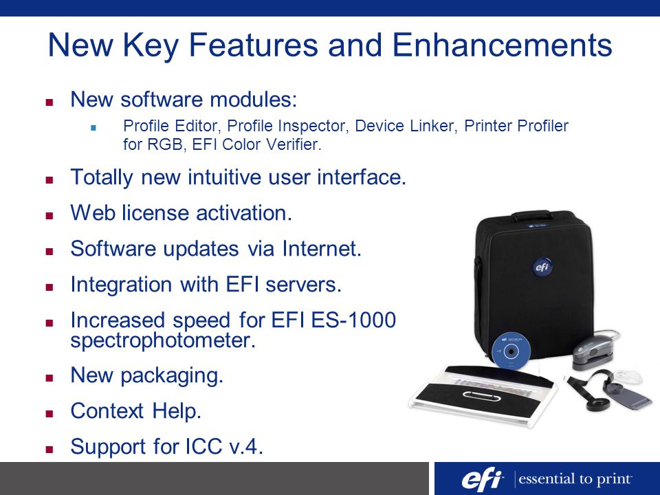 New Key Features and Enhancements