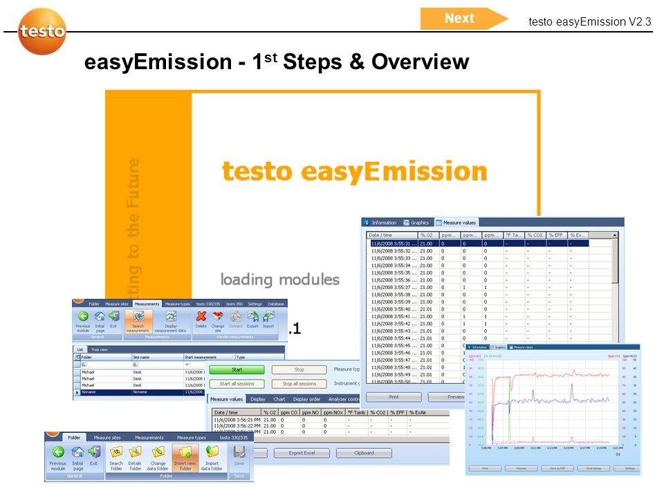 easyEmission - 1st Steps & Overview