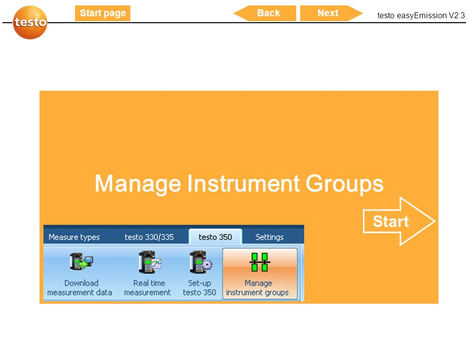 Manage Instrument Groups