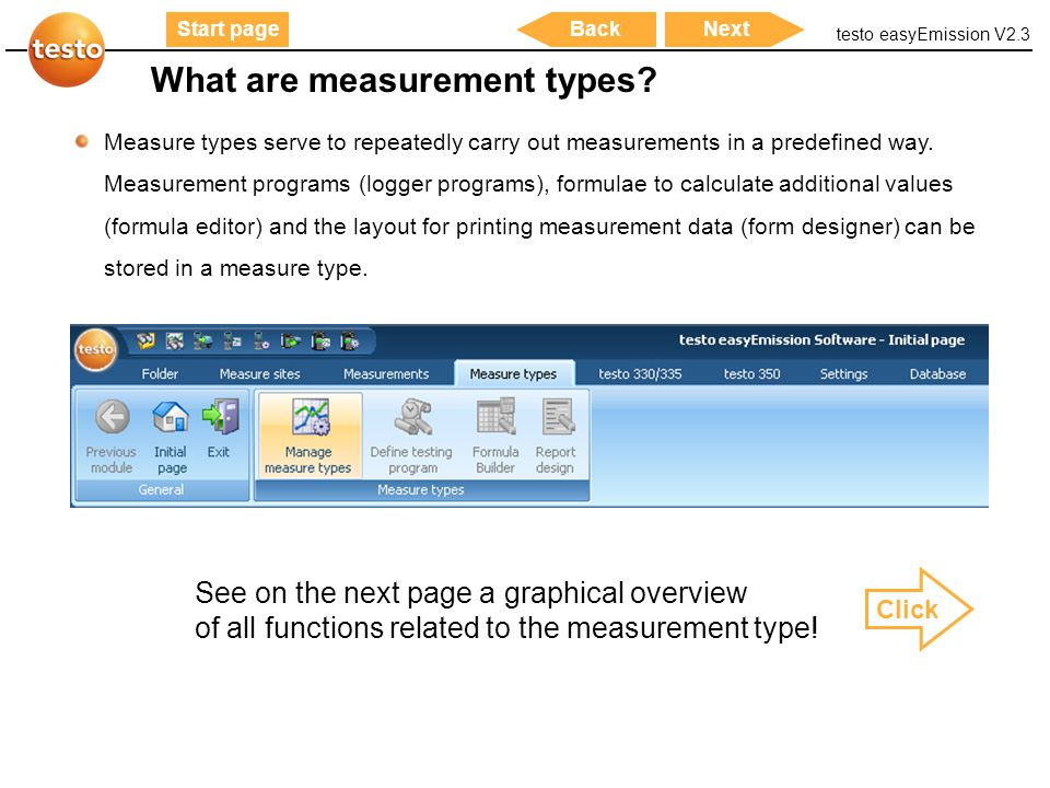 What are measurement types