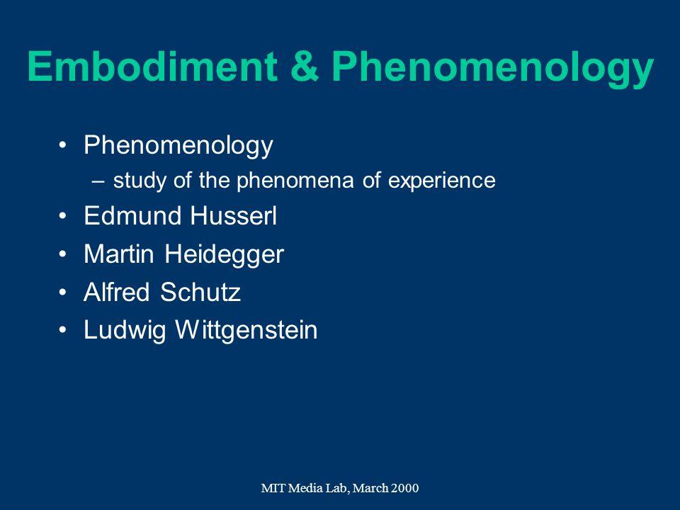 Embodiment & Phenomenology