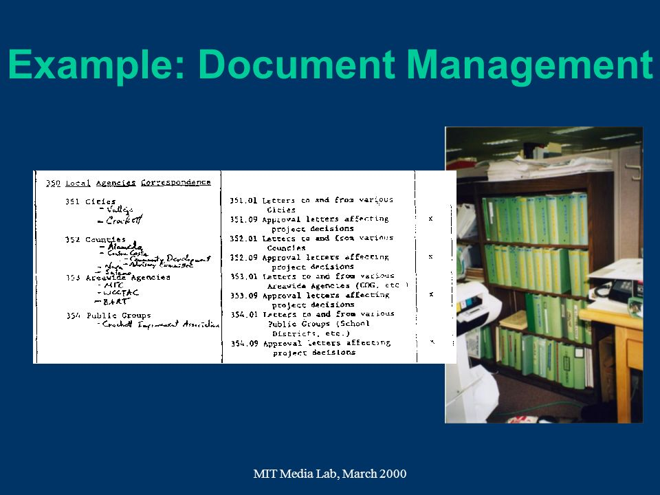 Example: Document Management
