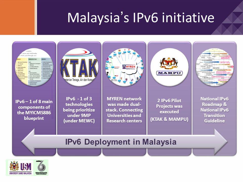 Malaysia's IPv6 initiative