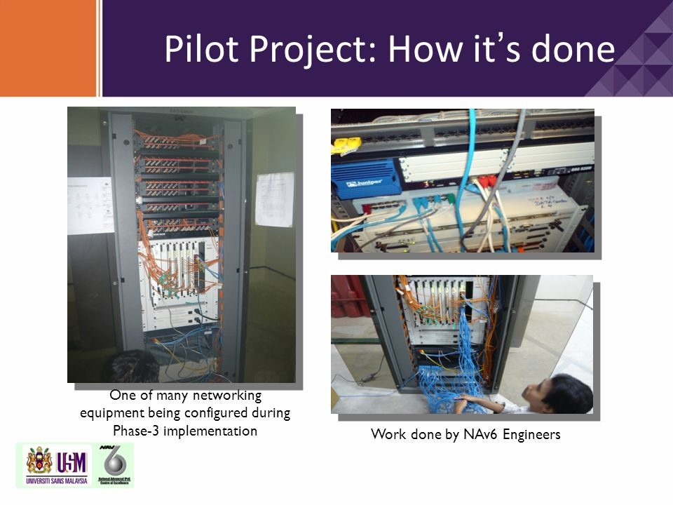Pilot Project: How it's done