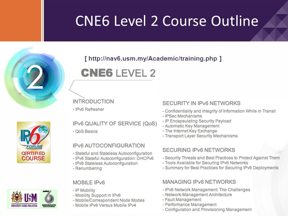 CNE6 Level 2 Course Outline