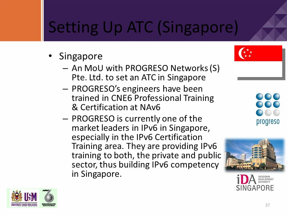 Setting Up ATC (Singapore)