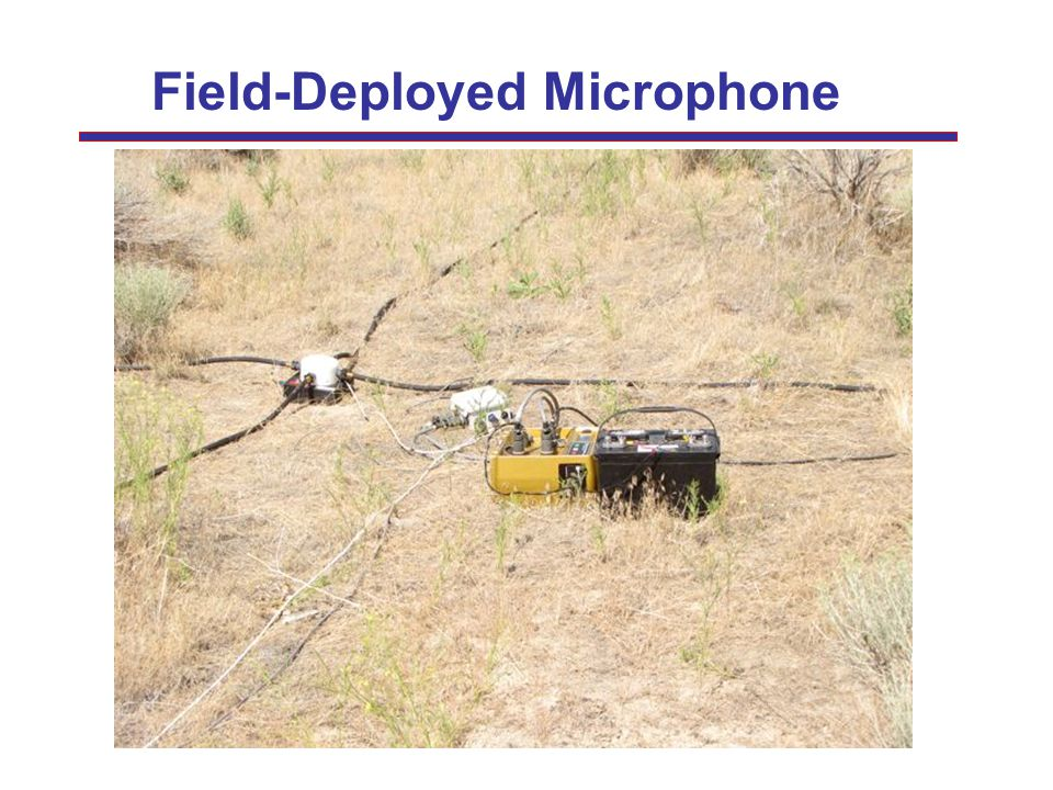 Field-Deployed Microphone
