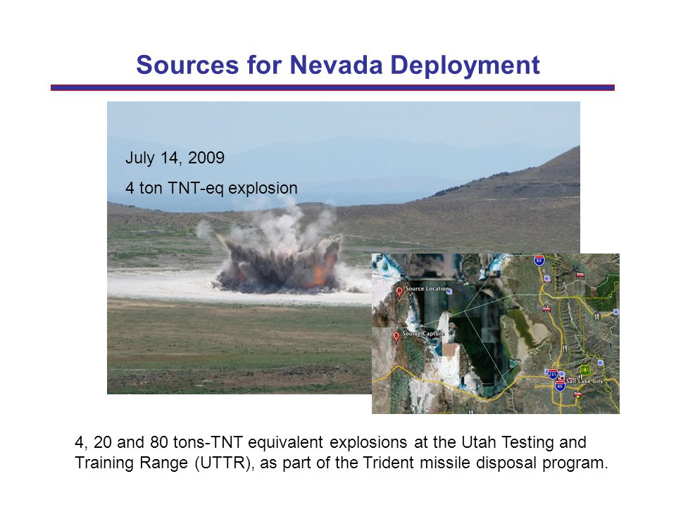 Sources for Nevada Deployment