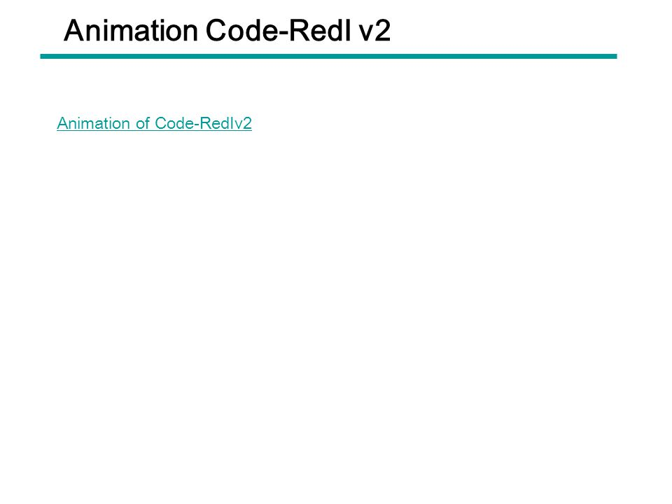 Animation Code-RedⅠ v2 Animation of Code-RedⅠv2