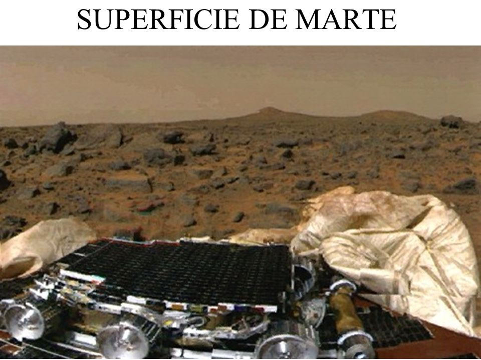 SUPERFICIE DE MARTE