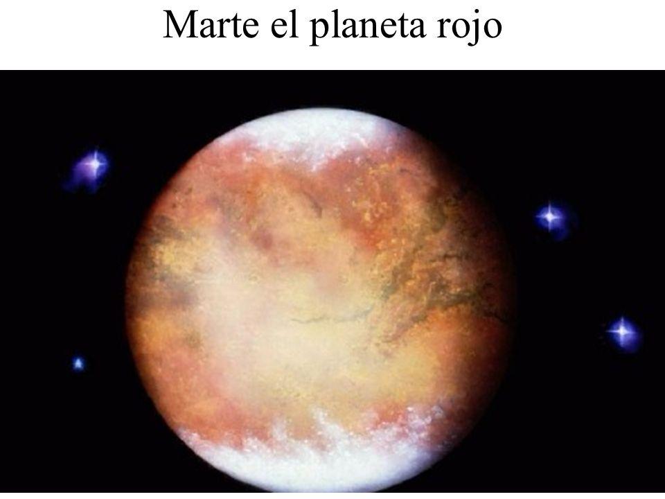 Marte el planeta rojo