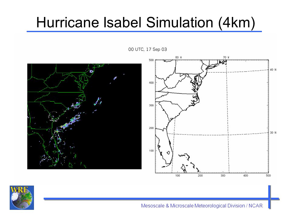 Hurricane Isabel Simulation (4km)