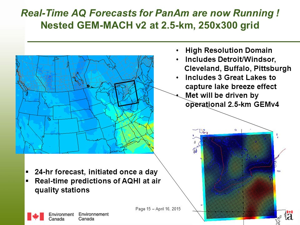 Real-Time AQ Forecasts for PanAm are now Running