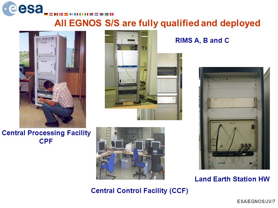 All EGNOS S/S are fully qualified and deployed