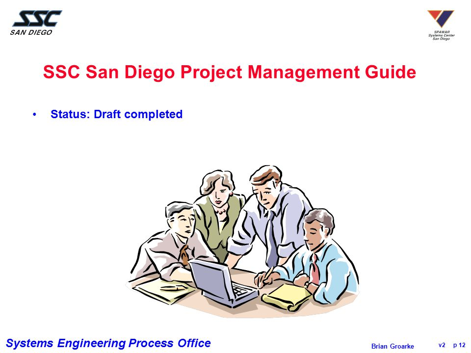 SSC San Diego Project Management Guide