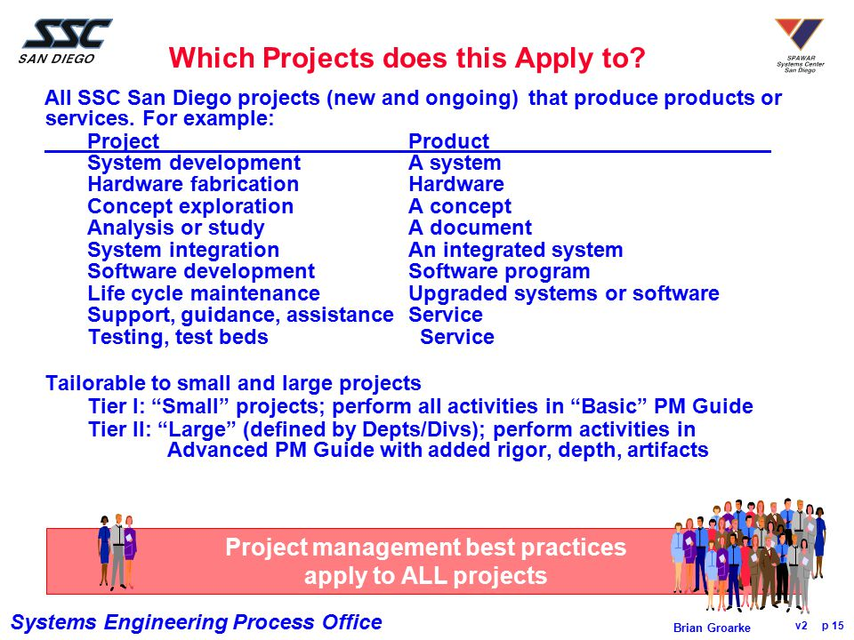 Which Projects does this Apply to