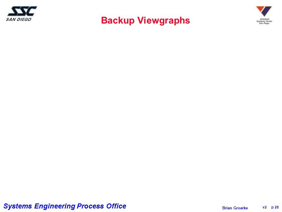 Backup Viewgraphs