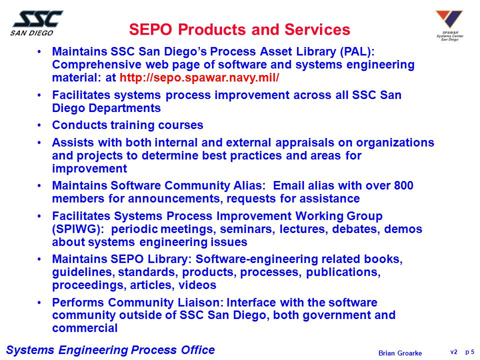 SEPO Products and Services