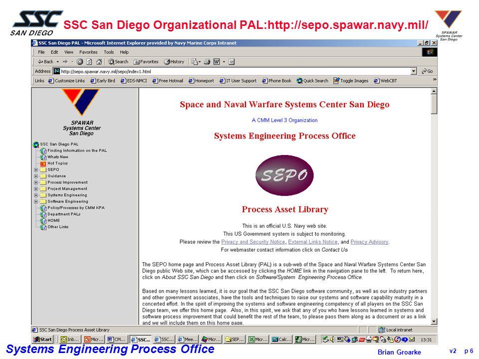 SSC San Diego Organizational PAL:http://sepo.spawar.navy.mil/