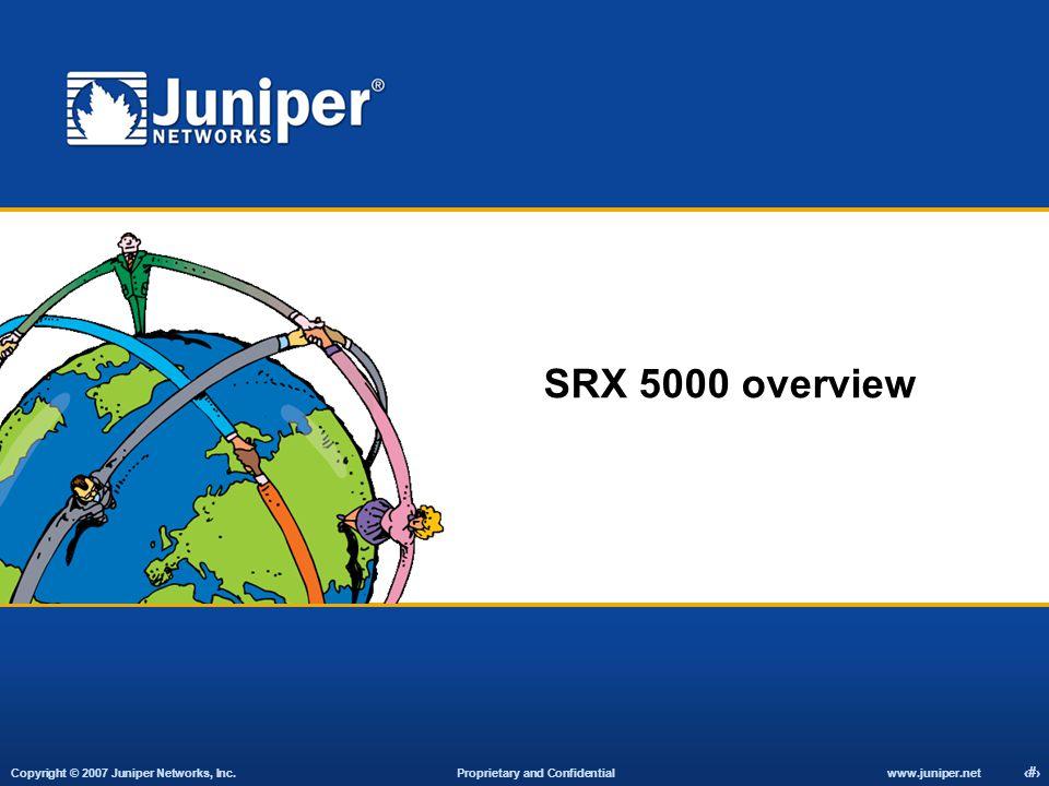 SRX 5000 overview