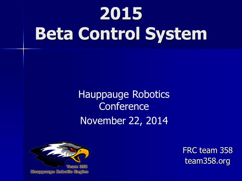Hauppauge Robotics Conference