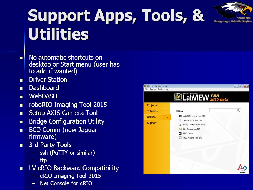 Support Apps, Tools, & Utilities