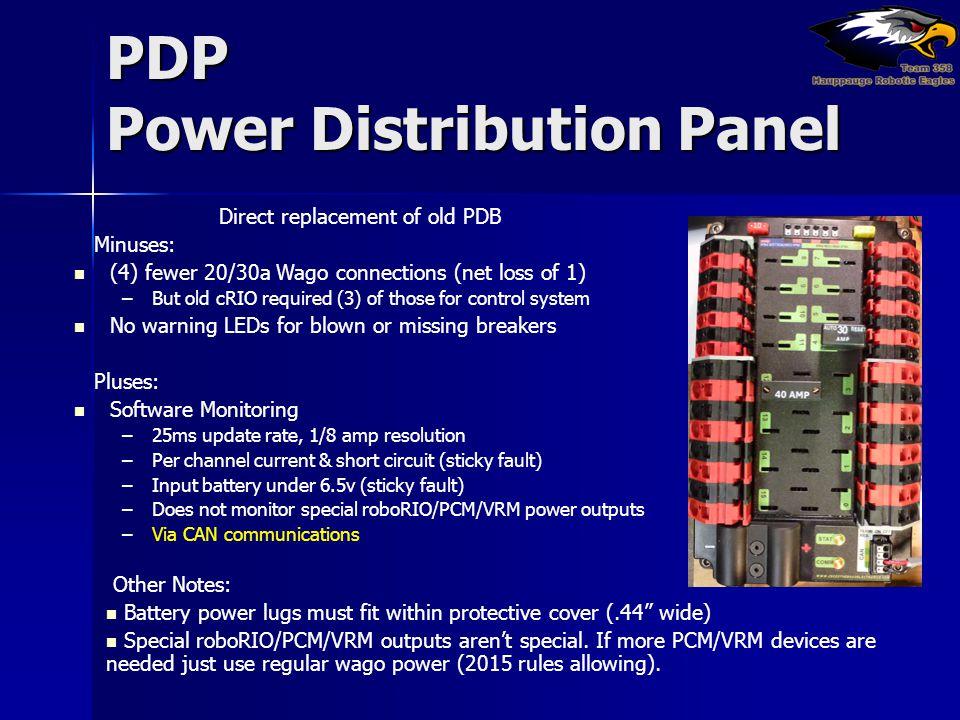 PDP Power Distribution Panel