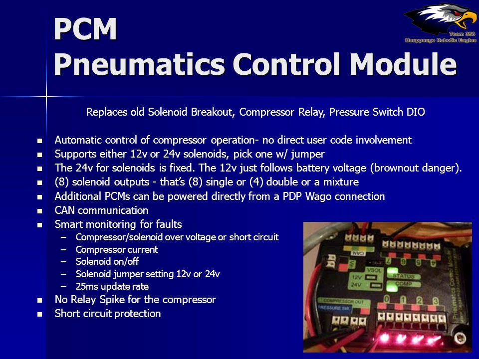 PCM Pneumatics Control Module